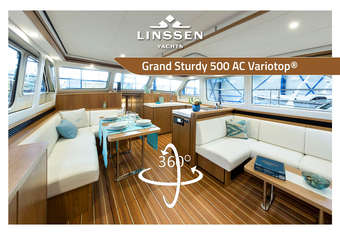 Virtual Tour of the Linssen Grand Sturdy 500 AC Variotop®