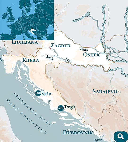 Linssen Boating Holidays in Croatia