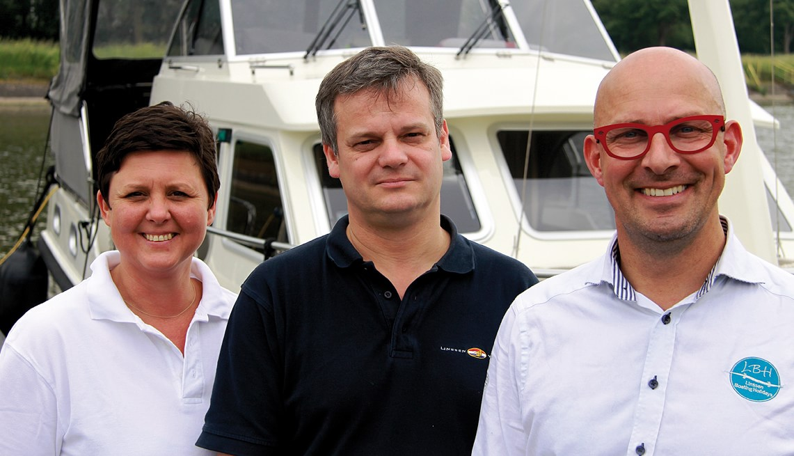 Linssen Boating Holidays team BBoat