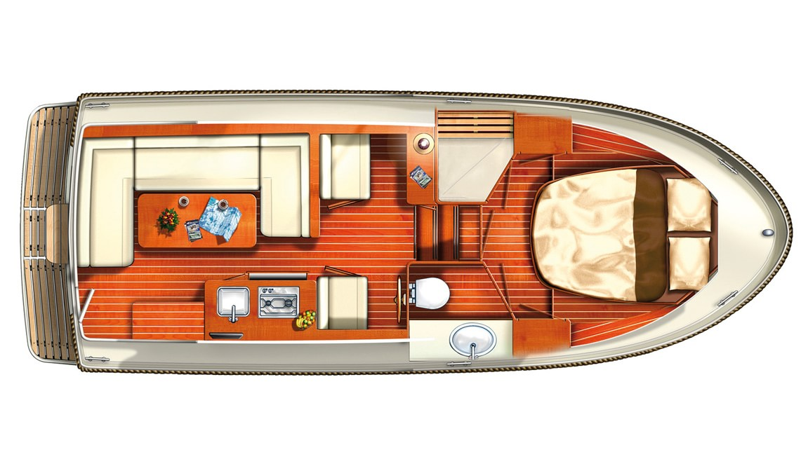 Linssen Grand Sturdy 25.9 SCF layout
