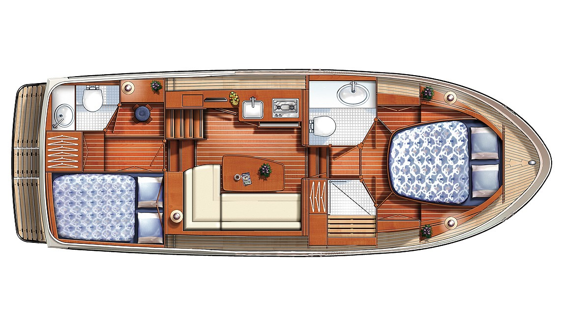 Linssen Grand Sturdy 29.9 AC Layout