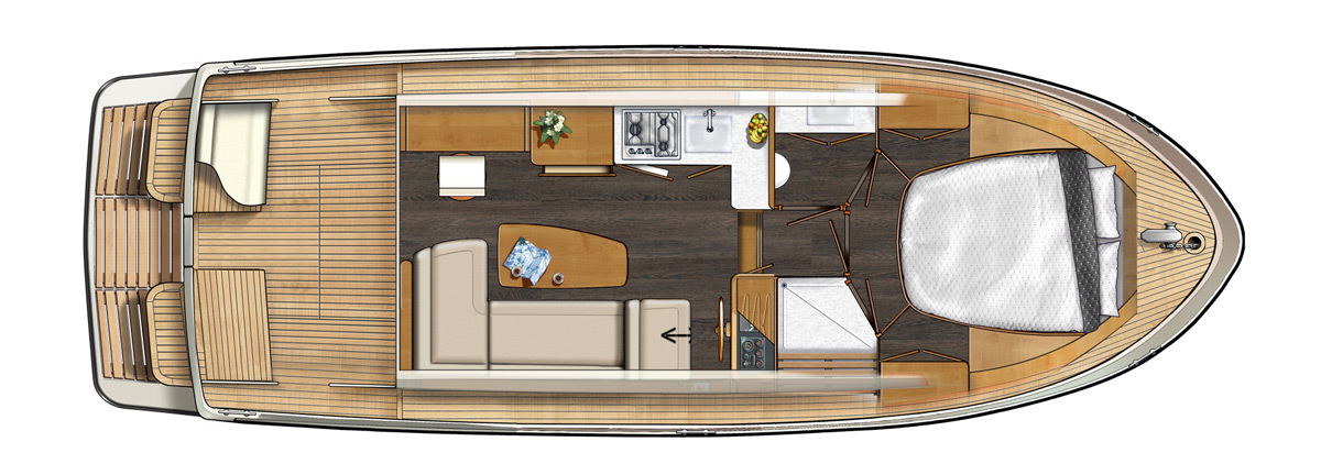 Linssen Grand Sturdy 30.0 Sedan Layout