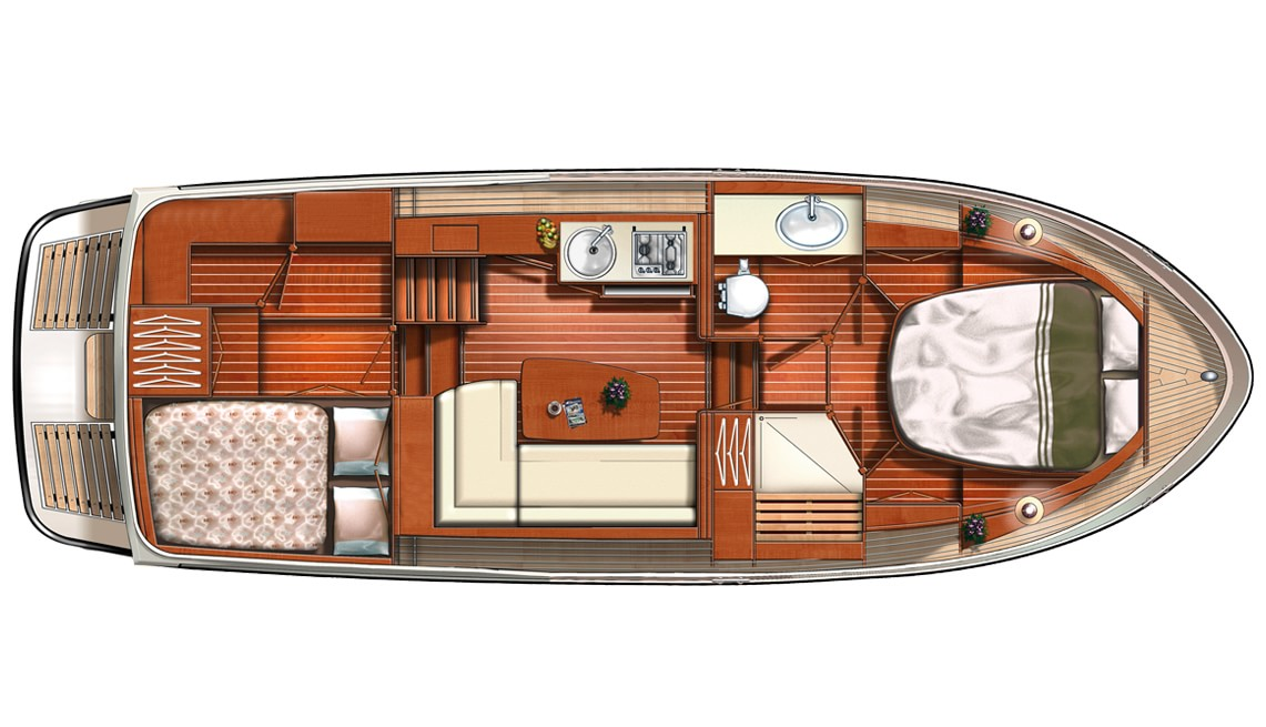 Linssen Grand Sturdy 30.9 AC Layout