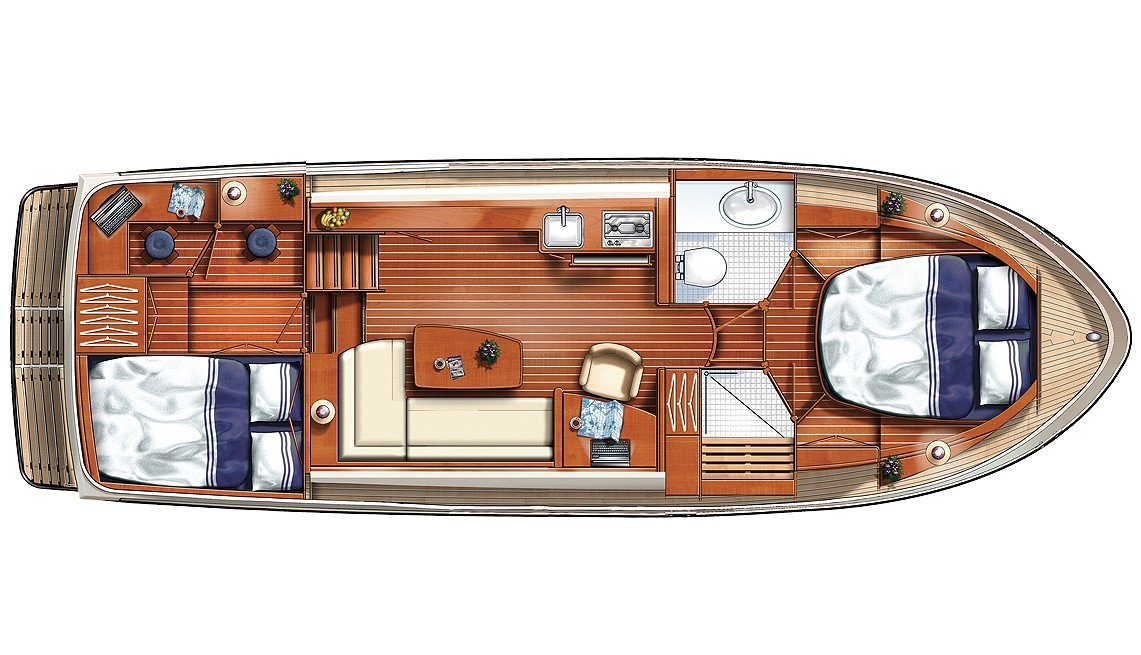 Linssen Grand Sturdy 33.9 AC Layout