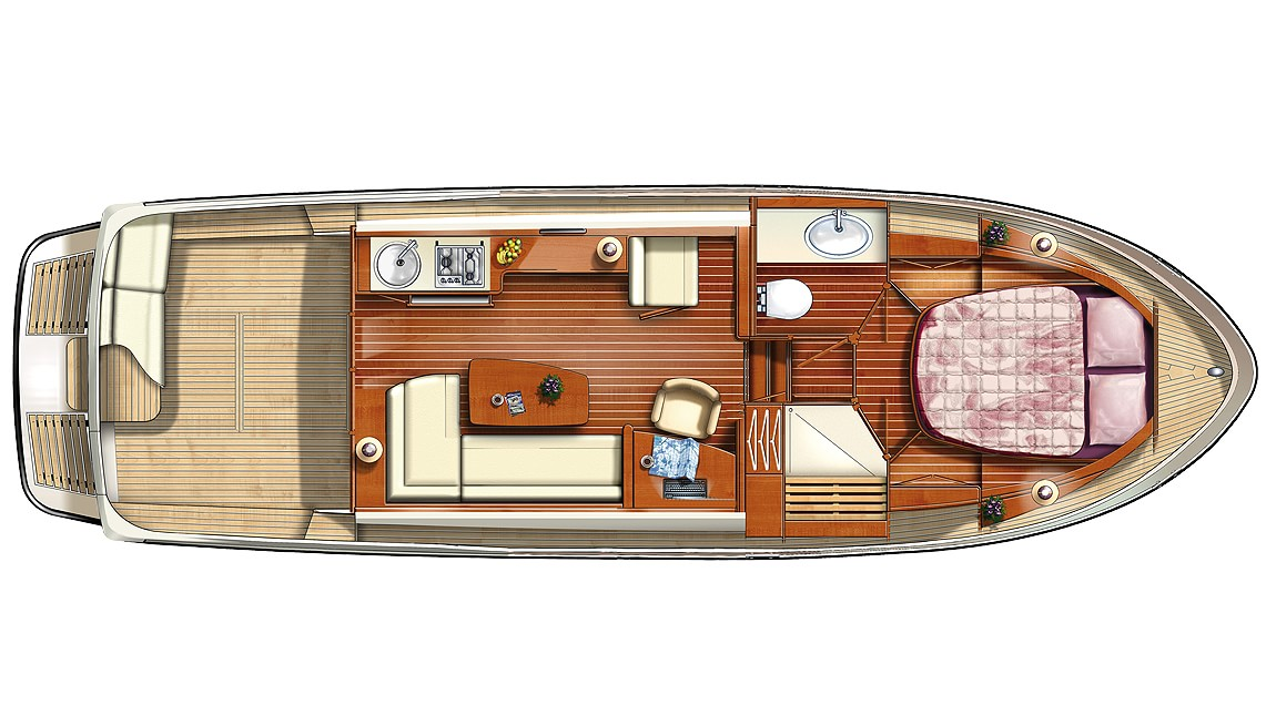 Linssen Grand Sturdy 34.9 Sedan Layout