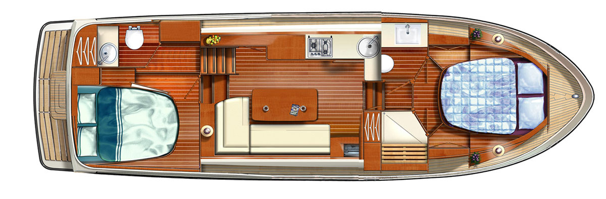 Linssen Grand Sturdy 35.0 AC Layout