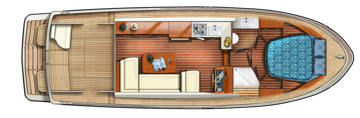 Linssen Grand Sturdy 35.0 Sedan Layout