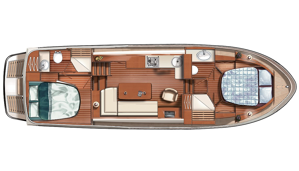 Linssen Grand Sturdy 36.9 AC Layout