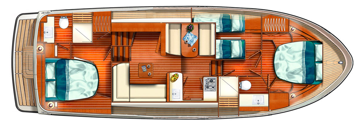 Linssen Grand Sturdy 40.0 AC layout