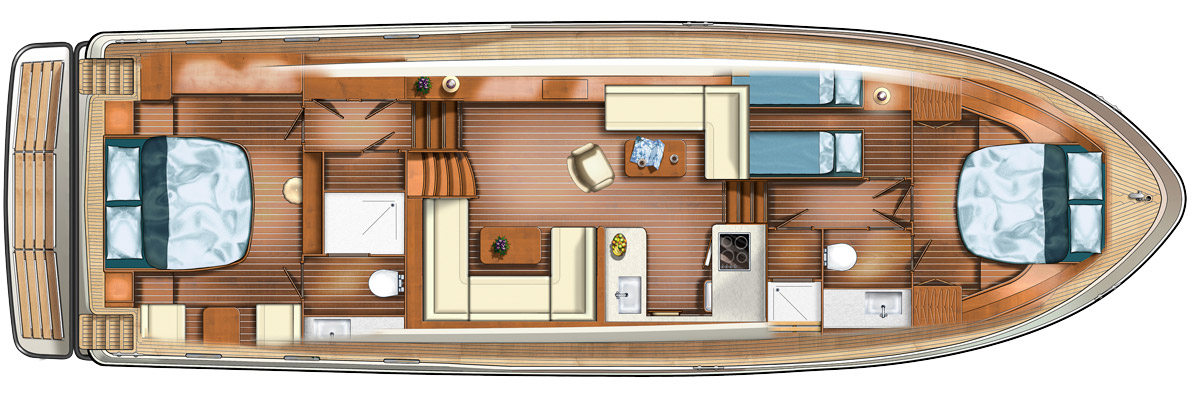 Linssen Grand Sturdy AC Variotop layout