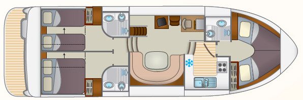 Layout Locaboat E600