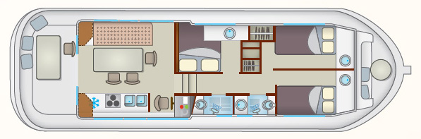 Layout Locaboat P 1260 R