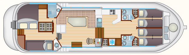 Layout Locaboat P 1400 FB
