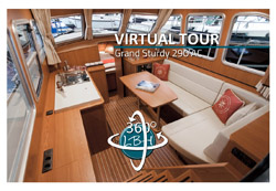 360 degree panorama of Linssen Grand Sturdy 290 AC Traveller