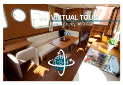 360 degree panorama of Linssen Grand Sturdy 36.9 AC