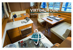 360 degree panorama of Linssen Grand Sturdy 410 AC